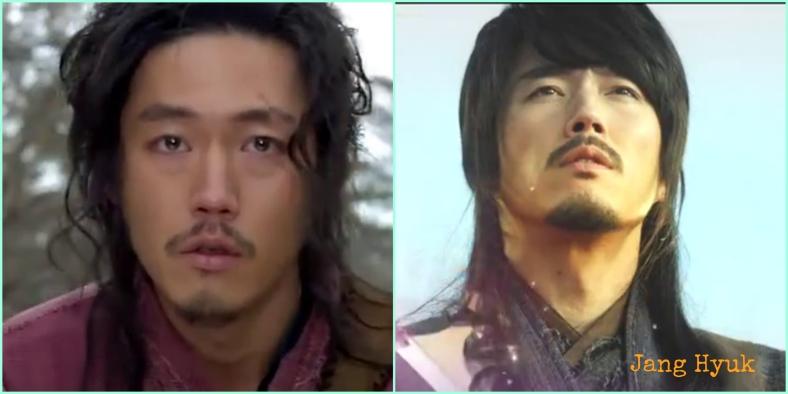Jang Hyuk in Chuno and Shine and Go Crazy