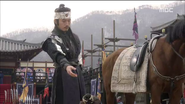 Jang Hyuk as Prince Wang So in Shine or Go Crazy